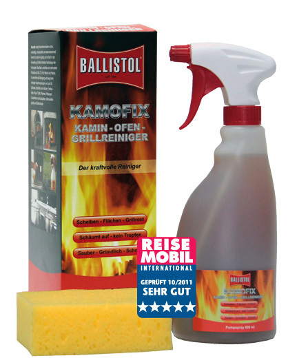 ballistol kamofix stove oven and grill cleaner