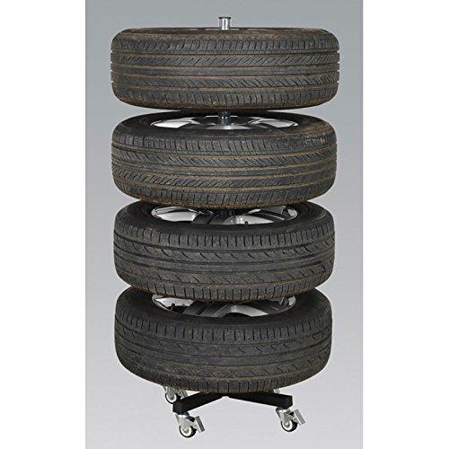 sealey str004 reifenst nder f r 4 reifen bis 100 kg mit rollen keep your car. Black Bedroom Furniture Sets. Home Design Ideas