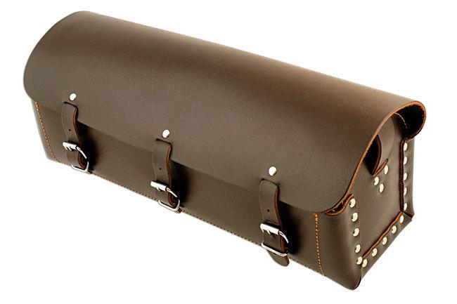 gunson 77127 trousse outils de cuir arrondie avec la ceinture d 39 paule garde ta voiture. Black Bedroom Furniture Sets. Home Design Ideas