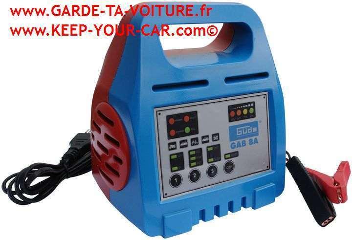 g de chargeur de batterie automatique gab 8a 85060 6v 12v garde ta voiture. Black Bedroom Furniture Sets. Home Design Ideas