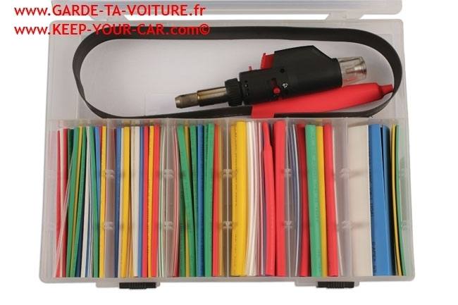 Laser 6076 Torch with Heat Shrink Tubing Set 162pc