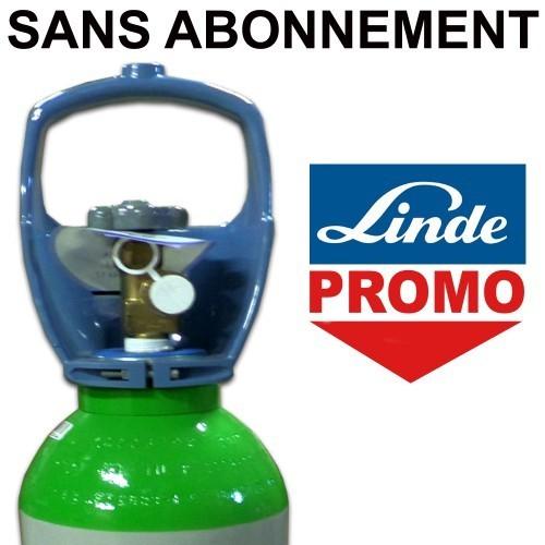 Linde bouteille de gaz 1 0 m3 b5 mini argon rempli garde ta voiture - Bouteille d argon ...