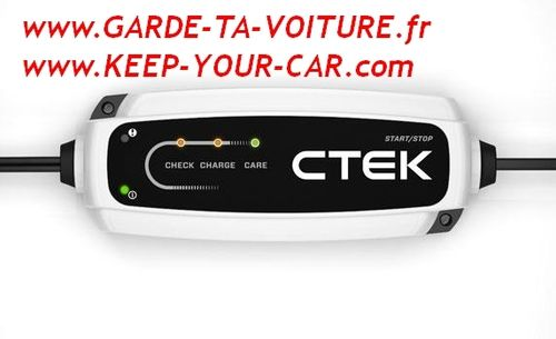 CTEK CT5 START STOP 12 V chargeur de batterie automatique