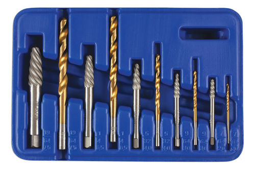 LASER 3744 Combination Screw Extractor & Drill Set