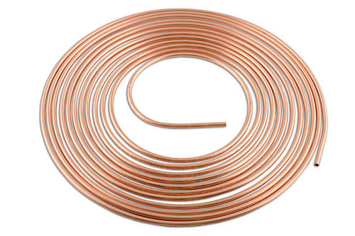 Copper Brake Pipe 3/16in. x 25ft. Pk 1