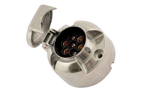 7 Pin Metal Socket 12 Volt 12N