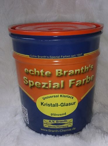 Branth's -Kristall-Glasur vernis transparent brillant 750 ml