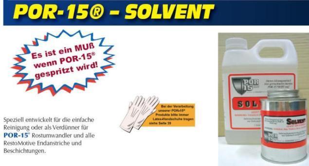 POR15 Solvent 1 Quart (946 ml)